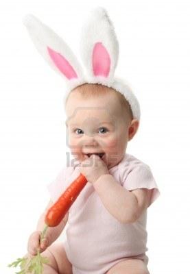 Новогодние рецепты для детей. Лакомство для маленьких зайчиков.