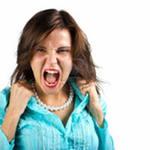 Агрессивная женщина, контроль над своим поведением