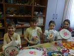 Дети за рукоделием