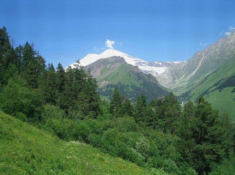 ландшафт кавказских минеральных вод